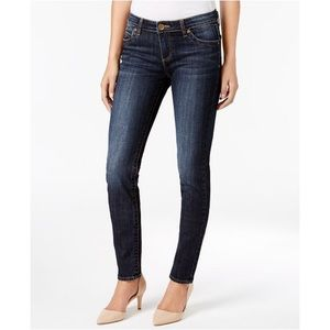 Kut From The Kloth Diana Skinny Jeans Dark Wash 8